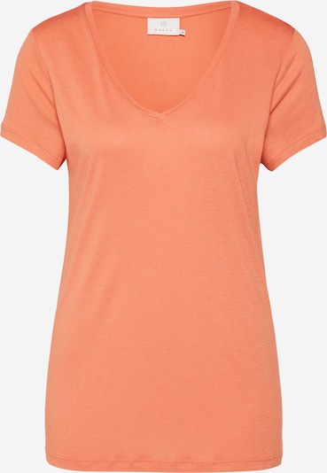 Kaffe T-Shirt 'Anna' in orange, Produktansicht