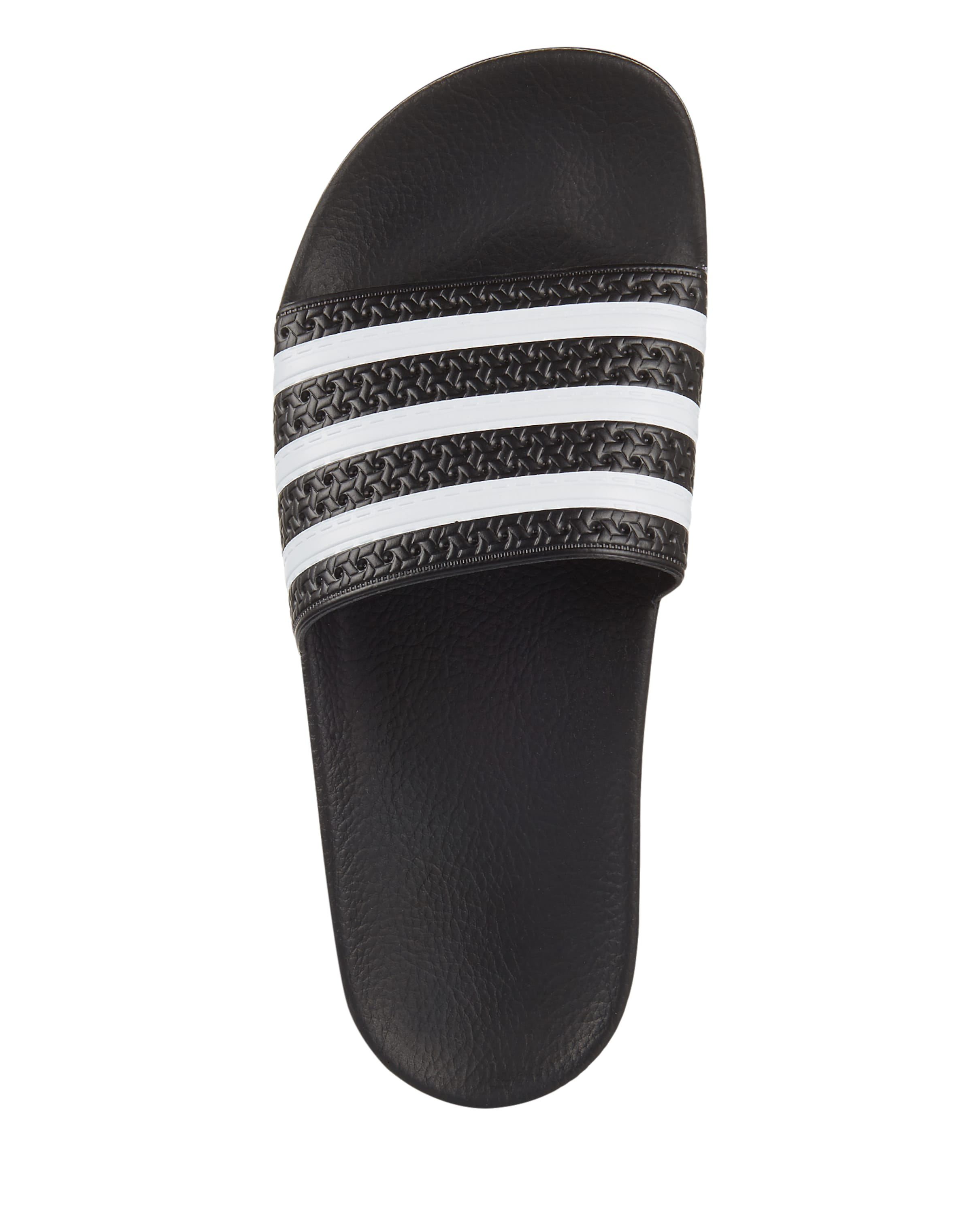slider In Originals SchwarzWeiß Adidas Bade 'adilette' K1JTFlc3