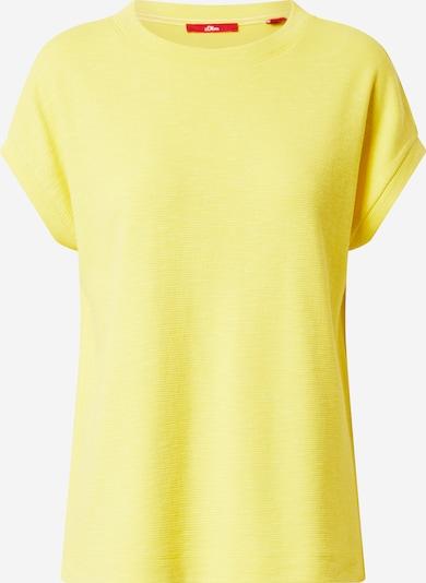 s.Oliver Shirt in gelb, Produktansicht