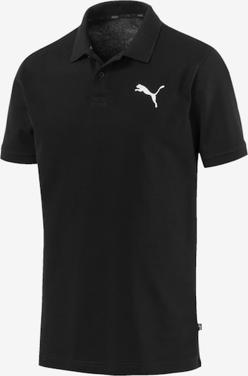 PUMA Polo 'Essentials' in schwarz, Produktansicht