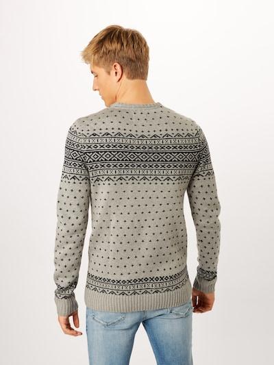 Megztinis iš BLEND , spalva - rausvai pilka: Vaizdas iš galinės pusės