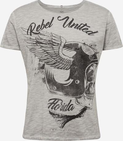 Key Largo T-Shirt 'MT REBELS UNITED' en gris / argent: Vue de face