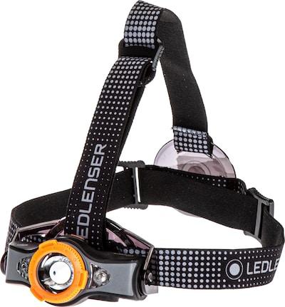 Led Lenser Stirnlampe in schwarz, Produktansicht