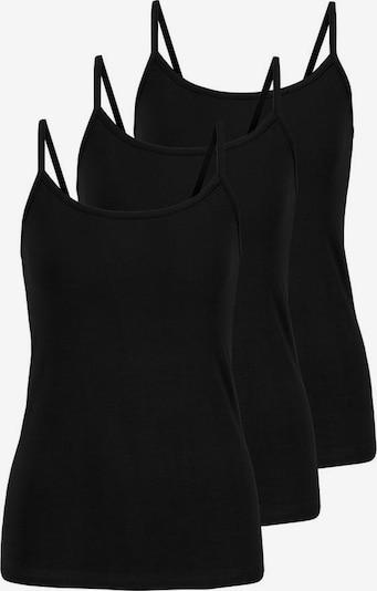 PETITE FLEUR Top in schwarz, Produktansicht