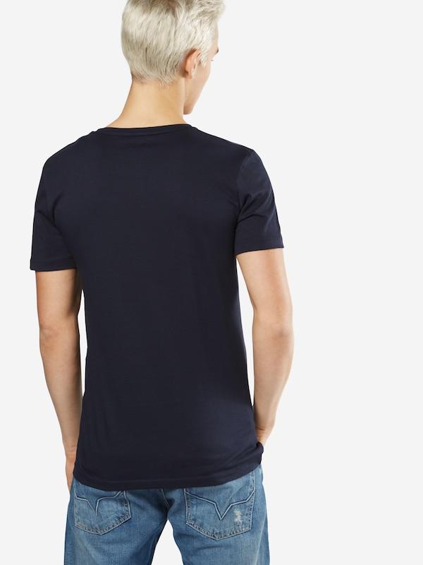 TOM TAILOR DENIM T-Shirt 'crewneck with wording'