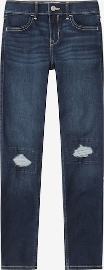 Abercrombie & Fitch Jeans '(B-E1357) BTS19-J4 DARK DESTROY SUPER SKINNY 1CC' in de kleur Blauw denim, Productweergave