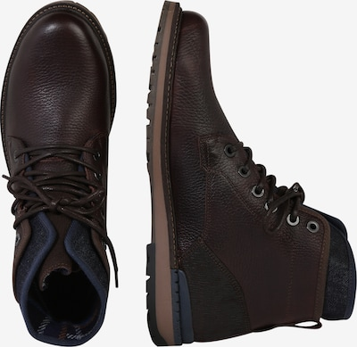 Suvarstomieji batai iš BULLBOXER , spalva - šokolado spalva: Vaizdas iš šono