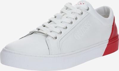 GUESS Sneaker 'Luiss' in rot / weiß, Produktansicht