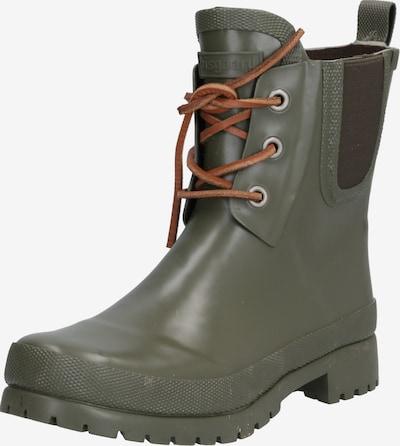 BISGAARD Botas de lluvia 'RUBBER BOOT' en marrón / verde / negro, Vista del producto