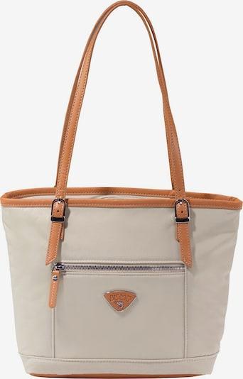 Jump Shopper 'Cassis Riviera' in beige / cognac, Produktansicht