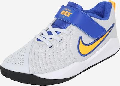 NIKE Sport-Schuh 'Team Hustle Quick 2' in blau / hellgrau / weiß, Produktansicht