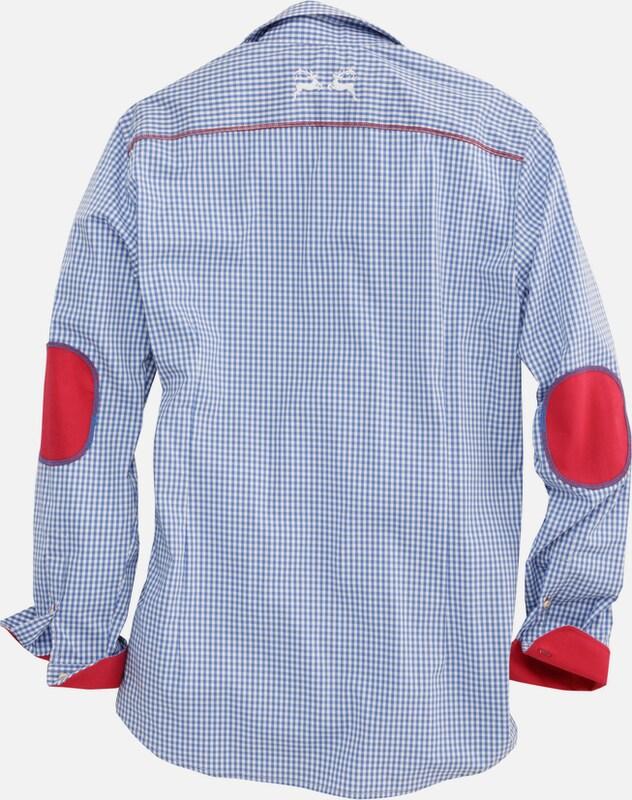 OS-TRACHTEN Trachtenhemd mit trendiger Stickerei