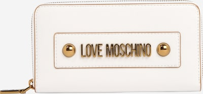 Love Moschino Portemonnee 'SLG-LETTERING LOVE MOSCHINO' in de kleur Wit, Productweergave