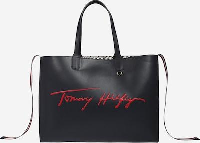 TOMMY HILFIGER Shopper 'ICONIC' - tmavomodrá / červená / biela, Produkt