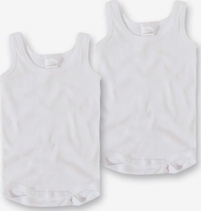 SCHIESSER Barboteuse / body en blanc, Vue avec produit
