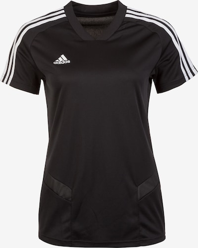 ADIDAS PERFORMANCE Trainingsshirt 'Tiro 19' in schwarz, Produktansicht