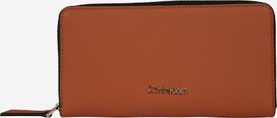 Calvin Klein Geldbörse 'MUST ZIPAROUND' in braun, Produktansicht