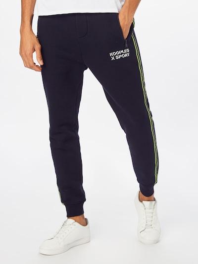 THE KOOPLES SPORT Hose in schwarz, Modelansicht