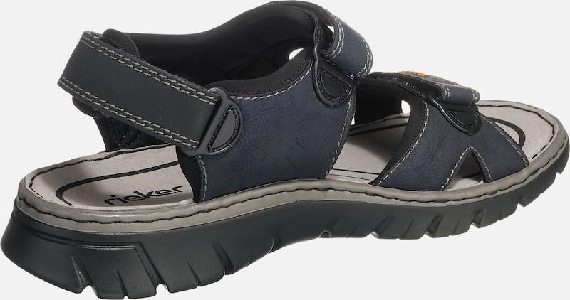 RIEKER | Trekking Sandale mit Klettverschluss Schuhe Schuhe Klettverschluss Gut getragene Schuhe 7c4b65