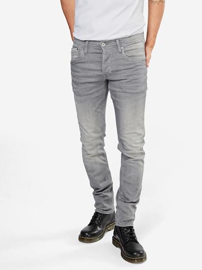 Pepe Jeans Jeans 'Track' in grey denim, Modelansicht