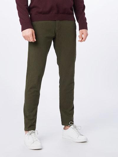 JACK & JONES Pantalon chino 'Marco Kenso AKM 638' en olive, Vue avec modèle