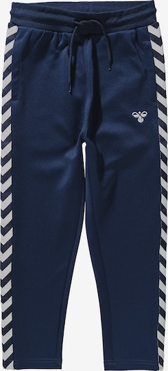 Hummel Trainingshose in dunkelblau / weiß, Produktansicht