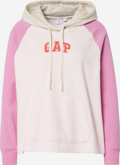 GAP Hoodie 'JAC INTL LOGO PO SP20' in pink / rosa / offwhite, Produktansicht