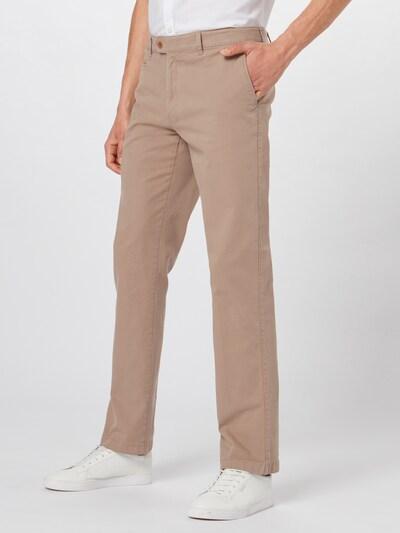 Pantaloni eleganți 'everest' BRAX pe bej: Privire frontală