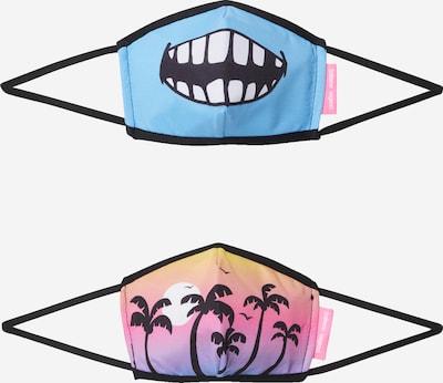 Inferno Ragazzi Masque en tissu 'STOKED IN PARADISE' en mélange de couleurs, Vue avec produit