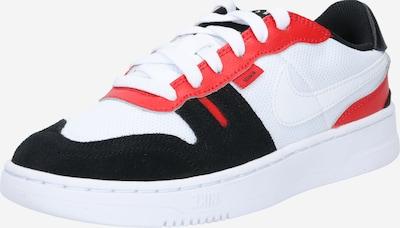 Nike Sportswear Trampki w kolorze czerwony / czarny / białym: Widok z przodu