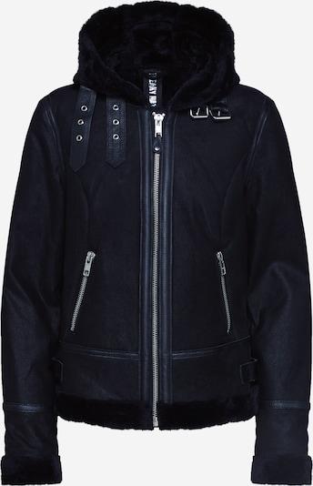 FREAKY NATION Lederjacke 'ARCTIC' in schwarz, Produktansicht