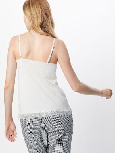 rosemunde Haut en blanc: Vue de dos