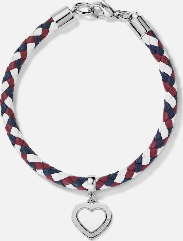 TOMMY HILFIGER Armband 'Herz Classic Signature'