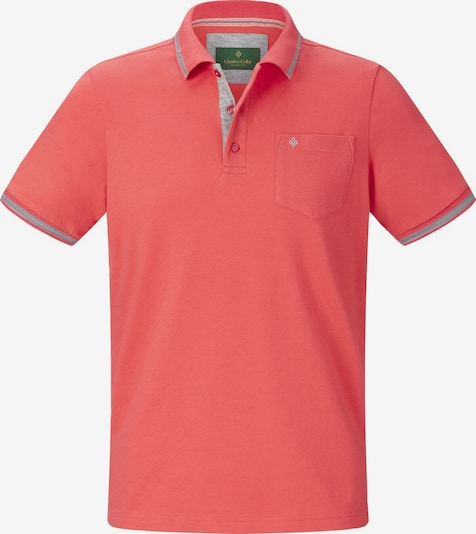 Charles Colby Poloshirt 'Rhys' in graumeliert / hummer, Produktansicht