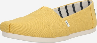 TOMS Slipper in gelb, Produktansicht