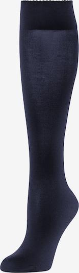 Wolford Sokken 'Velvet de Luxe 50' in de kleur Donkerblauw, Productweergave
