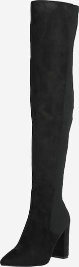 Cizme peste genunchi 'Everley' STEVE MADDEN pe negru, Vizualizare produs