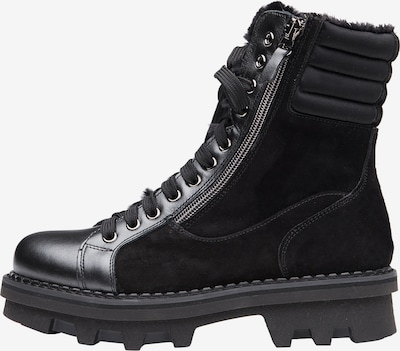 NOCLAIM Stiefelette 'KATE 19' in schwarz, Produktansicht