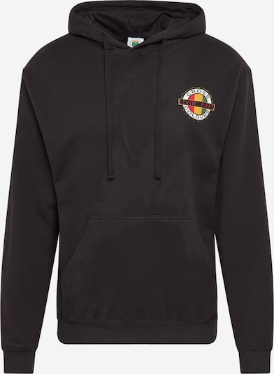 CROSS COLOURS Sweat-shirt 'Livin Phat Logo Hoodie' en noir, Vue avec produit