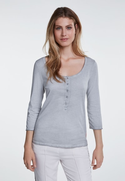 OUI Shirt in de kleur Blauw / Lichtblauw / Lichtgrijs, Productweergave