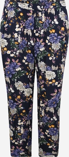 Zizzi Pantalon 'VCIGGA' en indigo / mélange de couleurs, Vue avec produit
