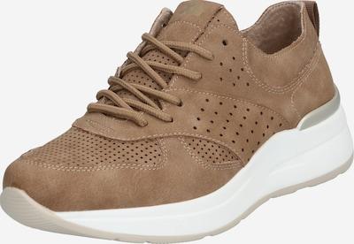 Xti Sneaker in taupe / weiß, Produktansicht