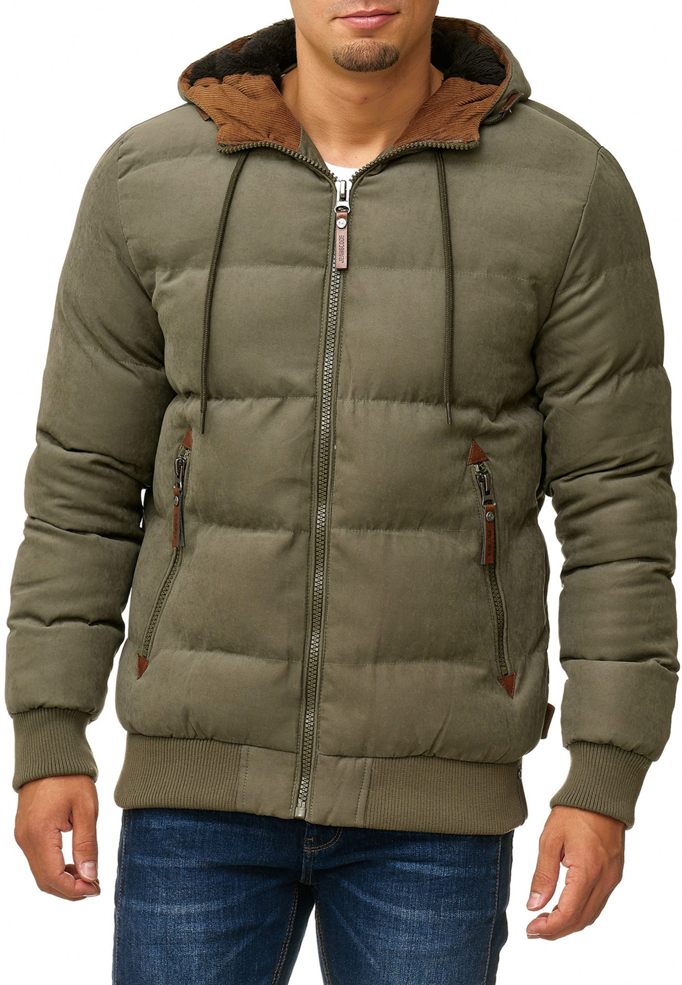 Blouson Indicode BraunOliv Jeans 'adeline' In 4Lc5Rjq3A