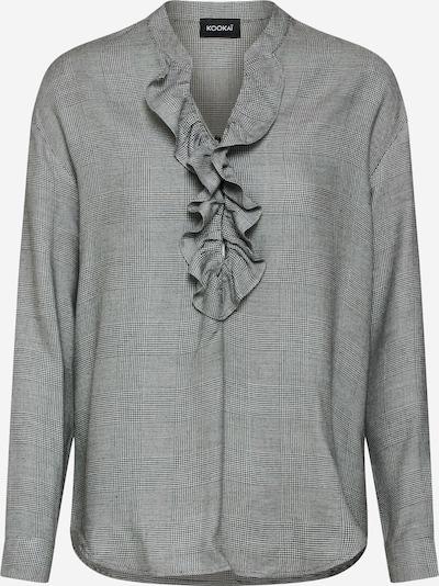 Kookai Bluza | svetlo siva / črna barva, Prikaz izdelka