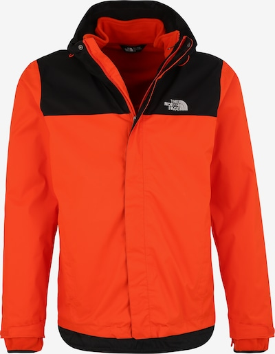THE NORTH FACE Veste outdoor 'Evolve II' en orange / noir, Vue avec produit