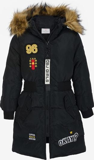 CIPO & BAXX Winterjas 'Okay' in de kleur Geel / Rood / Zwart, Productweergave