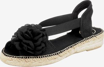 Toni Pons Sandale in schwarz, Produktansicht