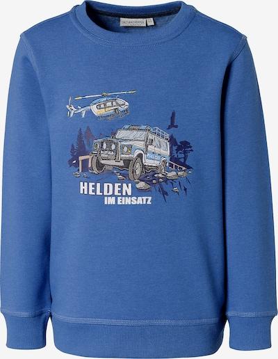 SALT AND PEPPER Sweatshirt in himmelblau / mischfarben, Produktansicht