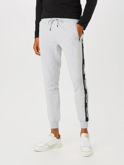 Pantaloni 'Will' JACK & JONES pe gri / negru: Privire frontală