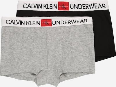 Calvin Klein Underwear Trunks in grau / schwarz, Produktansicht